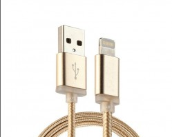 Nylon Braided Certified Lightning Cable 5 FT USB Charger for iPhone
